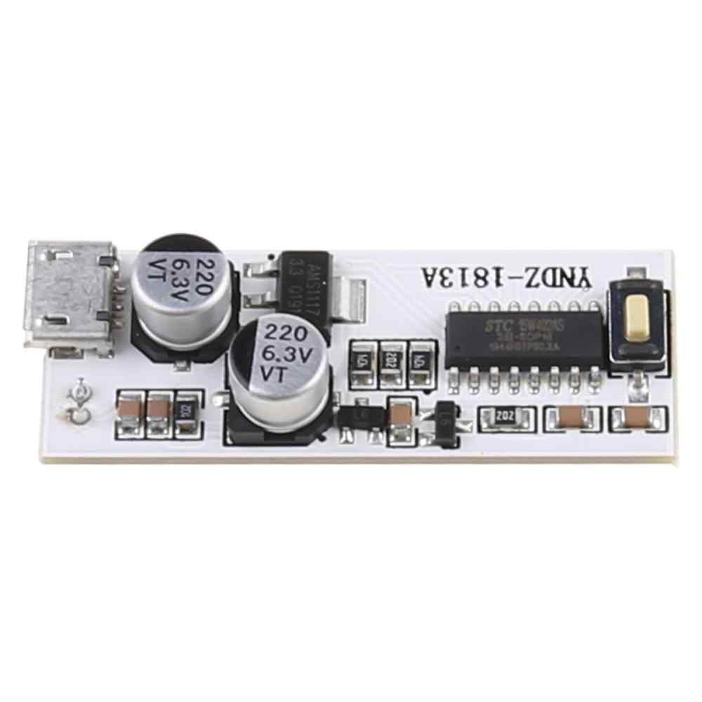 2x13 USB Mini  LED Board Voice Control Sensitivity Adjustable
