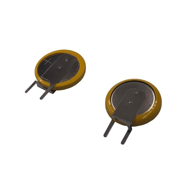 Piles au Lithium ML1220 avec 2 broches plates 3V manganèse Li ion batterie bouton Rechargeable ML 1220 remplace CR1220