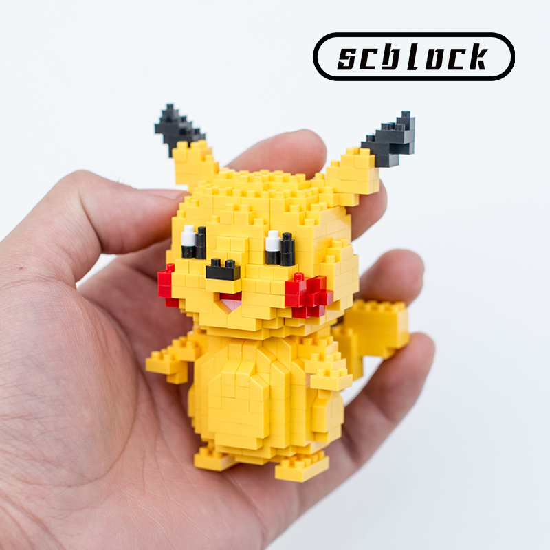 Pokemon Go Compatible With Lego Micro Small Particle Building Blocks Diamond Assembly Toy  Pet Elf Ball Piccadilly