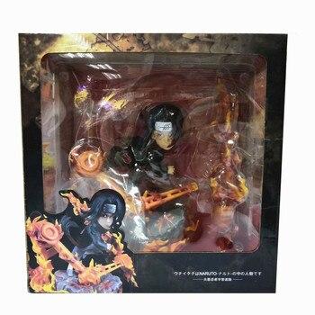 Anime Naruto Shippuden Uchiha Itachi Susanoo Tempestuous God of Valour Sharingan GK PVC Action Figure Collection Toys 28cm
