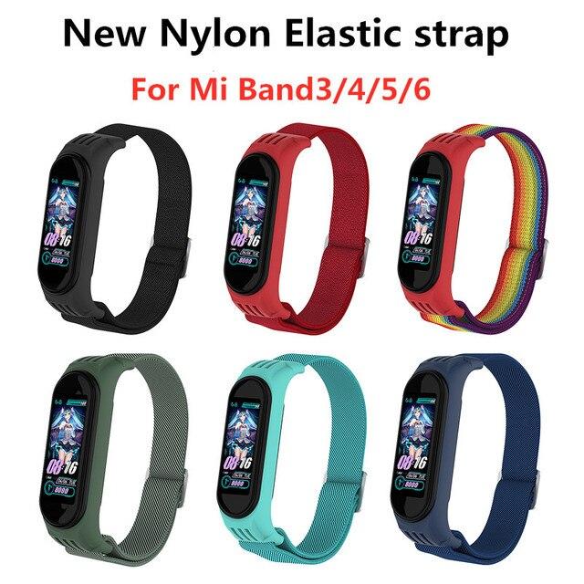 Ремешок нейлоновый для Xiaomi Mi band 1