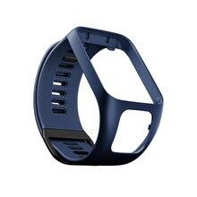 Модные силиконовые спортивные часы ремешок рамка для tomtom