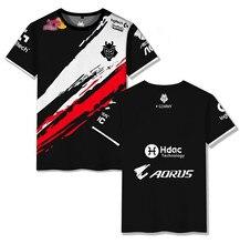 G2 esports casual top g2 escap uniforme t-camisa 2020 lol csgo spieler modo hohequalität tamanho 110-6xl