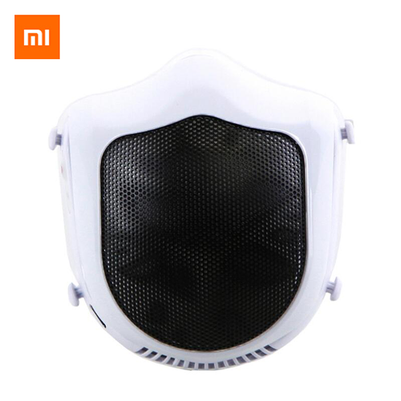 Xiaomi Mijia Youpin Q5S Electric Dust Haze PM2.5 Sterilizing Mask Provides Active Air Supply Electric Mask Protective Face Masks