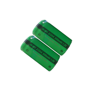 Image 2 - 6PCS PKCELL 2/3 AA battery 1.2V NIMH rechargeable batteries flat top indurstry batteries for  shaver toys