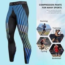 2021 Compression Leggings Men Sportswear Tights Quick Dry Sport Trousers Training Gym Fitness Running Legging Jogging Pants Men