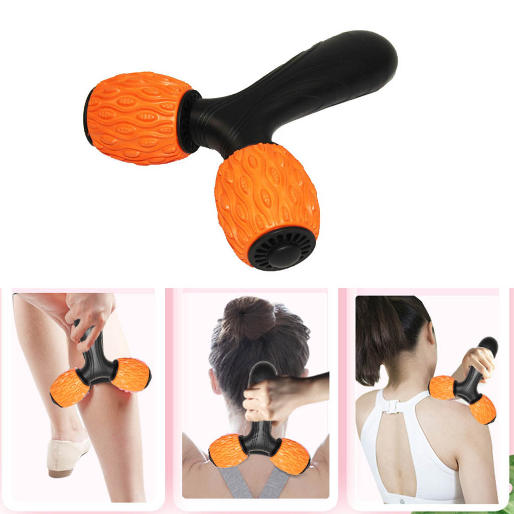 Gym Muscle Massage Roller Yoga Roller Fitness Gym Exercises Physio Massageer Portable For Fitness Yoga Leg Arm Muscle Relaxe #3