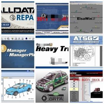 2020 Auto Repair Software Alldata V10.53 1TB HDD 50 Software Alldata and mit//chell 2015 Heavy Truck Vivid Workshop ATSG ElsaWin