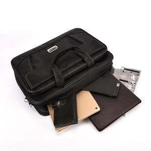 Image 4 - Kissyenia Brand Waterproof Nylon Laptop Briefcase Men Bag Travel Suitcase Business Laptop Mens Briefcase Bolsa Masculina KS1317