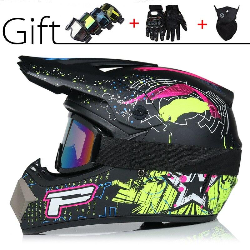 Special off road helmet motorcycle small off road helmet racing car light mountain full helmet air supply lens helmet