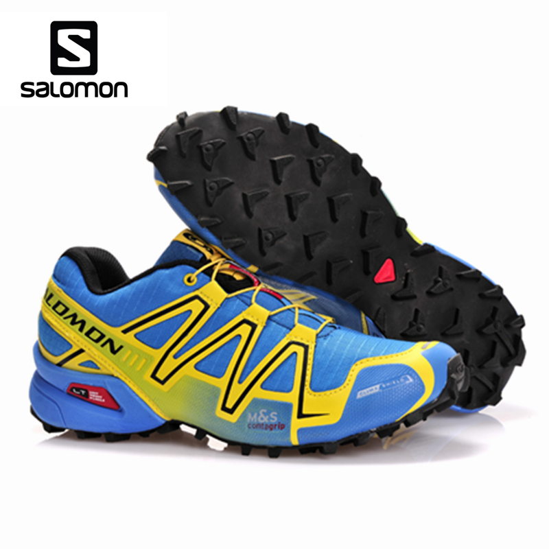 Salomon Speedcross 3 Outdoor Sport Lightweight Sneaker Shoes Breathable Running Speed Cross 3 Sneakers Men Fencing Shoes