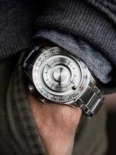 Магнитные часы с шариками уникальные мужские кварцевые наручные часы Стальные мужские часы водонепроницаемые противоударные лучшие продажи военные часы 2020 EOEO