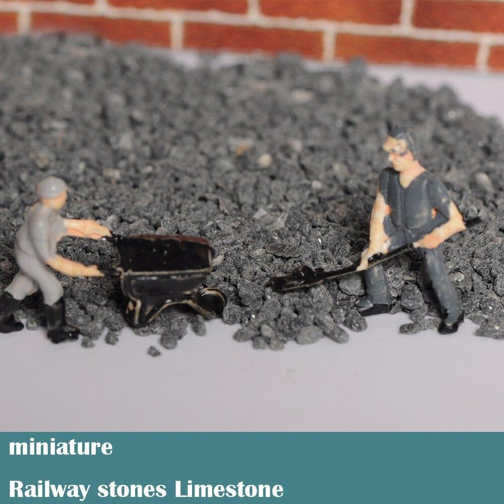 Miniature  Railway Stones  Limestone  Stone On Railway Track Base  Model Material Of Train Rail Sand Table