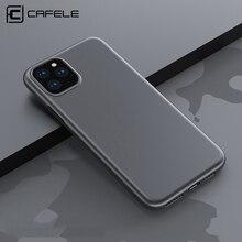 Мягкий чехол Cafele для iPhone 11 Pro Max, тонкий чехол из ТПУ для телефона Apple iPhone 11 promax, силиконовый чехол для задней панели, удобный для кожи