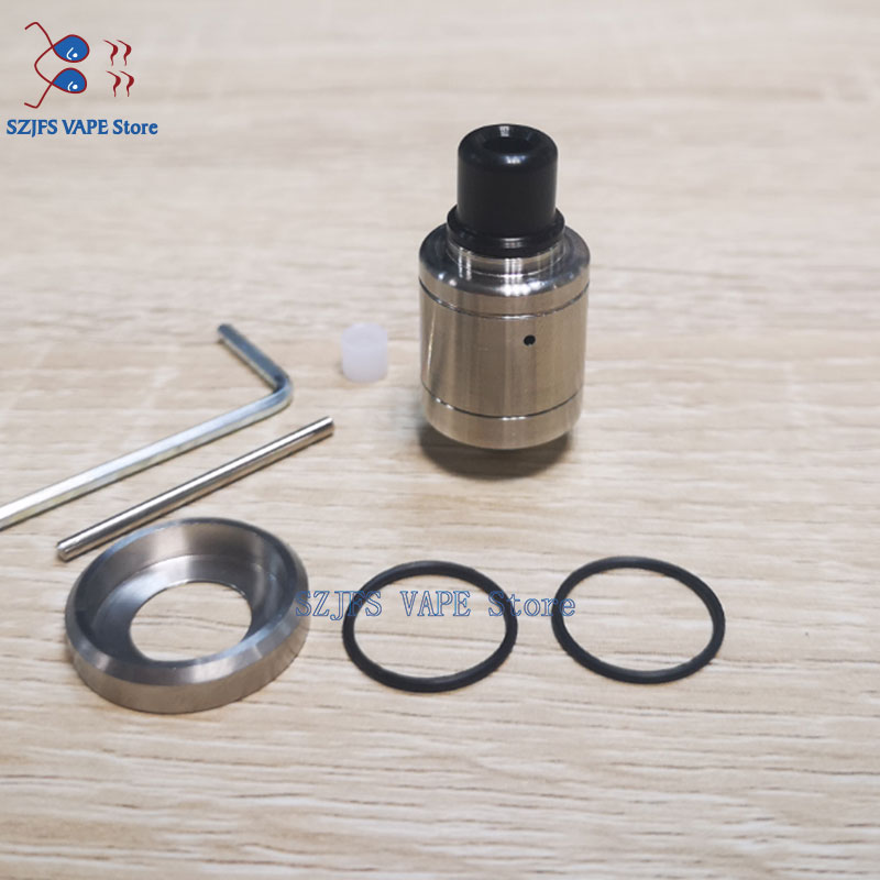 YFTK Speed Revolution 18mm RDA Rebuildable Dripping Atomizer With BF Pin Silver 316 SS Tank 510 Thread Box Mod Vs SXK Anima RDA
