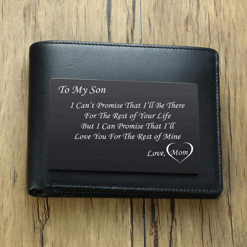 ENGRAVED STAINLESS STEEL WALLET CARD  A PERFECT BOYFRIEND GIFT FOR MAN CUTE ANNIVESARY GIFT FOR MEN OR WOMEN FIREFIGHTER POLICE