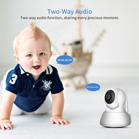 Cellphone security check monitor alarm system Baby /Pet property house Cam HD 720P Wireless Wifi IP Camera
