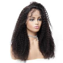 13x6 Lace Frontal Wigs Pre plucked Brazilian Hair Remy Curly Real Human Hair Wigs For Black Women Top Human Hair Toppers Near Me(China)