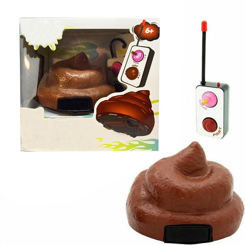 Fancy Remote Controlled Mobile Poop Novelty Toy With Rotating And Farting Action Fun Toys Fot Childrem Tricks Toy