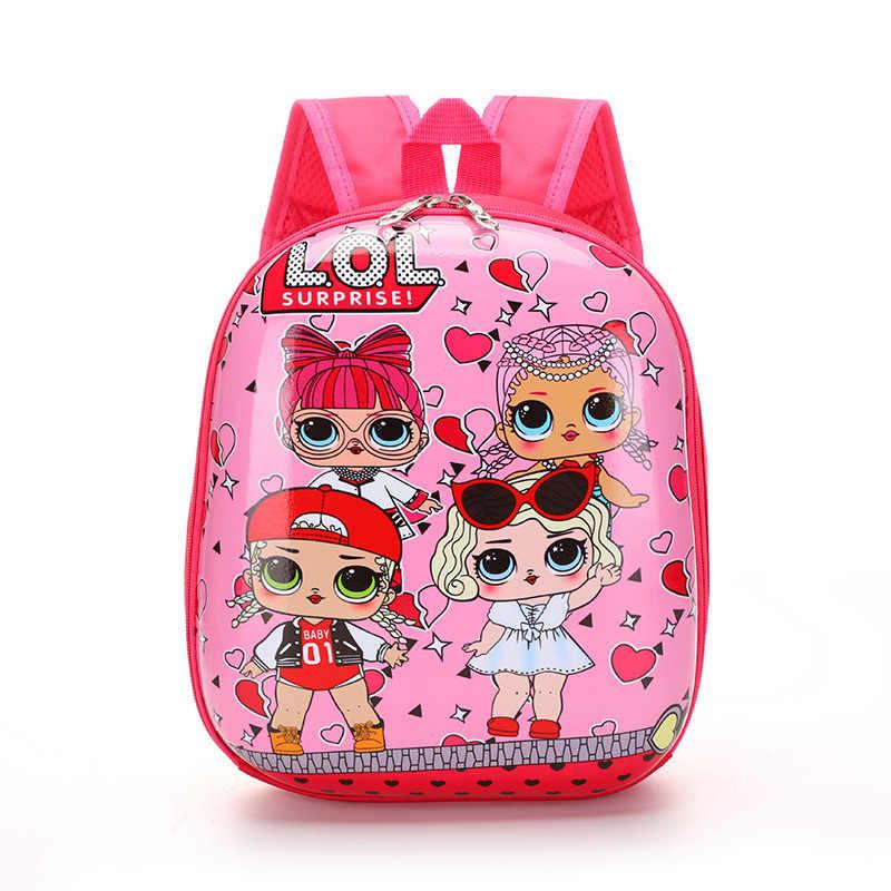 Mochila LOL Toys George SURPRISE Mochila escolar Linda bolsa Plecak bolsa 3d Impresión de dibujos animados Linda Mochila De chico Anime guardería
