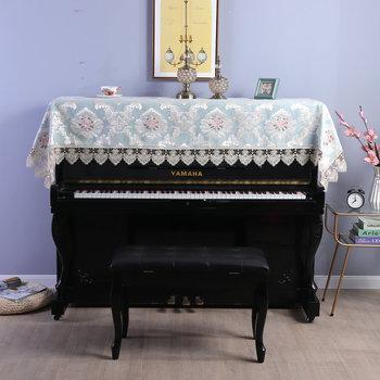 Europa tkanina narzuta na pianino haftowany koronkowy obrus 90*220cm prosty nowoczesny elegancki fortepian uniwersalny pokrowiec na ręcznik fortepian HM1158 tanie i dobre opinie CN (pochodzenie) 100 poliester