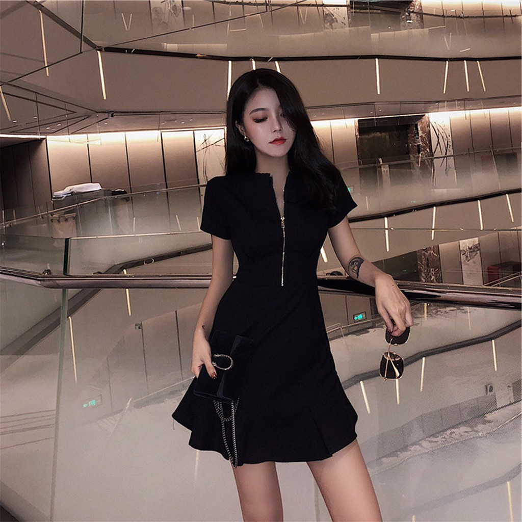 Are you sure not to click in and see? Women's  Short Sleeve Design Super Graceful  Summer Dress dropshipping  wholesale hot sale