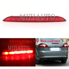 MIZIAUTO 1PCS High brake Light for Ford Mondeo 2007 2008 2009 2010 Additional Stop Lamp Center Rear Third Brake red