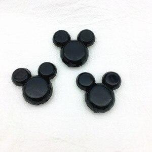 Image 3 - (色を選択) 50ピース/ロット35 × 25ミリメートル分厚いミッキーマウスヘッドビーズネックレス用