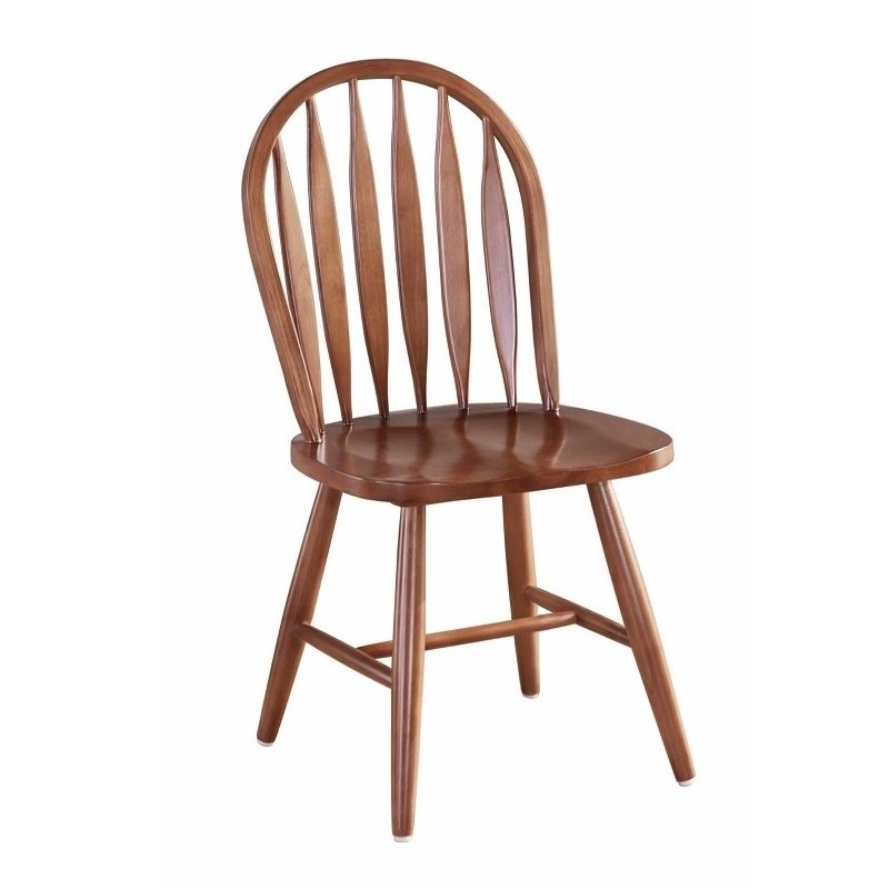 American Country Sword Back Windsor Chair Retro Simple Leisure Hotel Cafe Chair Solid Wood Chair Back Chair