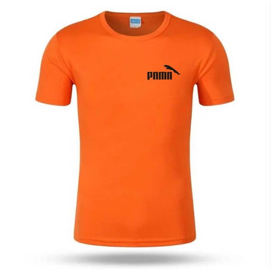 New summer shirt cotton gym fitness men t-shirt brand clothing Sports t shirt male print short sleeve Running t shirt sportswear