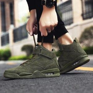 Image 3 - 2020 موضة الرجال حذاء كاجوال أحذية رياضية حذاء رجالي جديد مكتنزة أحذية رياضية الرجال أحذية تنس الكبار مريحة Erkek Ayakkabi