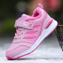 winter 2019 kids shoes for girl sneakers children Cotton  toddler