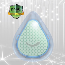 Reusable Mask As KN95 Mask PM2.5 Face Mouth Cover Mask with 2 Filter 4 layers dust Masks N95 Anti-bacterial half-mask respirator