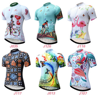 Cycling Jersey Women Short Sleeve Racing Sport MTB Bike Jersey Breathable Summer Cycling Shirt Pro Team Bicycle Clothing Maillot weimostar 2019 women cycling jersey short sleeve racing sport mtb bike jersey cycling shirt pro team bicycle clothing maillot