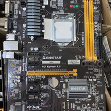 Профессиональная материнская плата Biostar TB85 6GPU 6PCI-E для майнинга BTC PRO B85 LGA 1150 DDR3 16 Гб SATA3 USB2.0 USB3.0