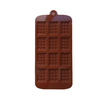 Silikonowa forma na czekoladki 12 kształtów czekoladowe narzędzia do pieczenia nieprzywierające silikonowe formy do ciasta galaretka i forma do cukierków 3D formy DIY najlepsze nowe tanie i dobre opinie CN (pochodzenie) CE UE Ekologiczne Z gumy silikonowej Chocolate Silicone Mold 40 grams or so 22 5*10 5*0 5 cm 1*Waffle baking mold