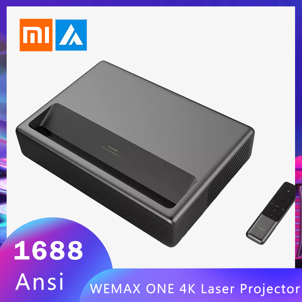 Xiaomi Projector-Tv Mijia WEMAX 4k Laser Home Theater 1080P ONE Ansi Wifi 2 1688 Android-6.0