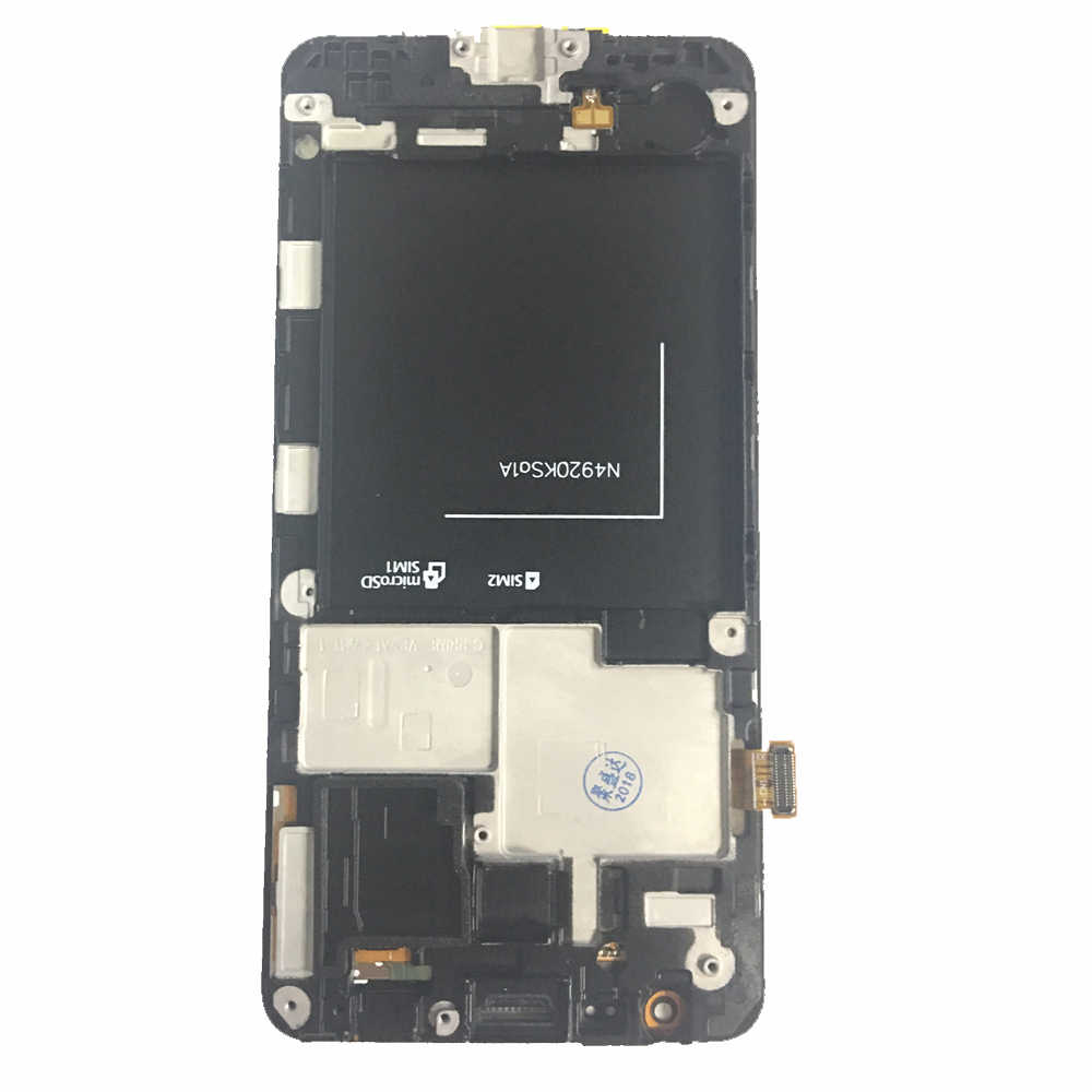 2 Pcs צגי Lcd עבור סמסונג גלקסי גרנד ראש G531 G531F SM-G531F G531H LCD תצוגה עם מסגרת מסך מגע Digitizer עצרת
