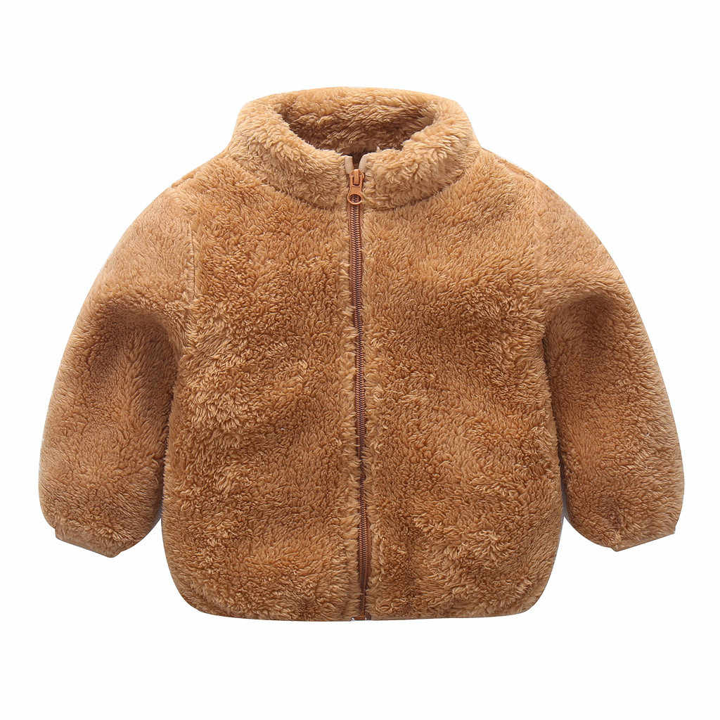 Toddler Girls Jacket Solid  Autumn Winter Jacket For Girls Coat Kids Jacket Children Outerwear Coat For Girl Clothes  1 2 3 Year