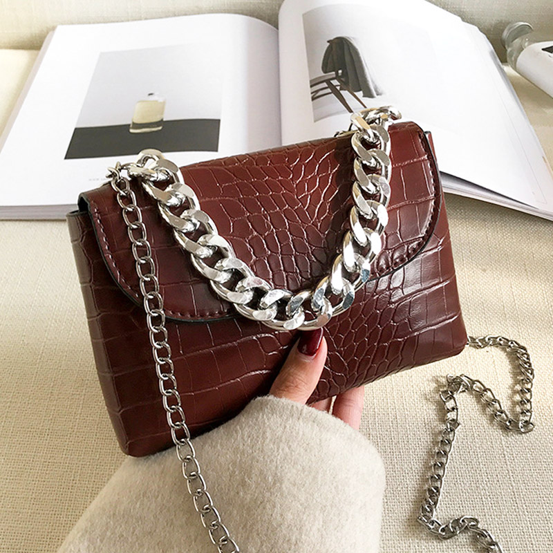 Lady Waist Pack Women Handbags Small Chain Shoulder Bags For Women 2020 Vintage Tredny Crossbody Bag Leather Bolsa Feminina