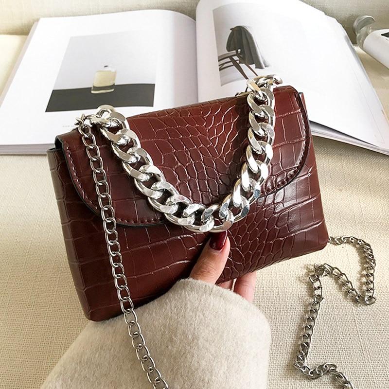 Lady Waist Pack Women Handbags Small Chain Shoulder Bags For Women 2020 Vintage Tredny Crossbody Bag Leather Bolsa Feminina