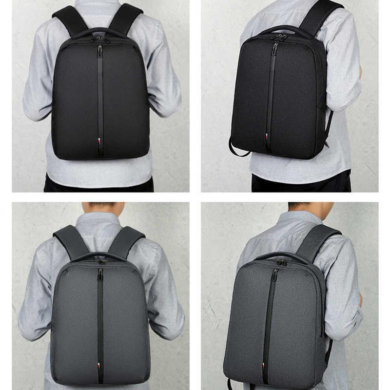 أسود الرجال على ظهره النساء مدرسة الترفيه الأعمال حقيبة السفر 15.6 بوصة حقائب الكمبيوتر المحمول ل Hp و ماك بوك دفتر حقيبة حاسوب