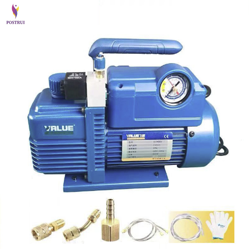 V-i120SV 1L New Refrigerant Mini Series Single Stage Vacuum Pump Air Vacuum Pump 2-8CFM,0.85l/S(50HZ),0.95l/S(60HZ)