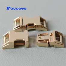 100pcs metal belt buckles quick side release buckle clip clasp snap hook 15mm webbing DIY dog collar paracord sewing accessories