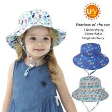 Baby Hat Boy Girl Toddler Kids Sun Hat Summer SPF 50+ Adjust