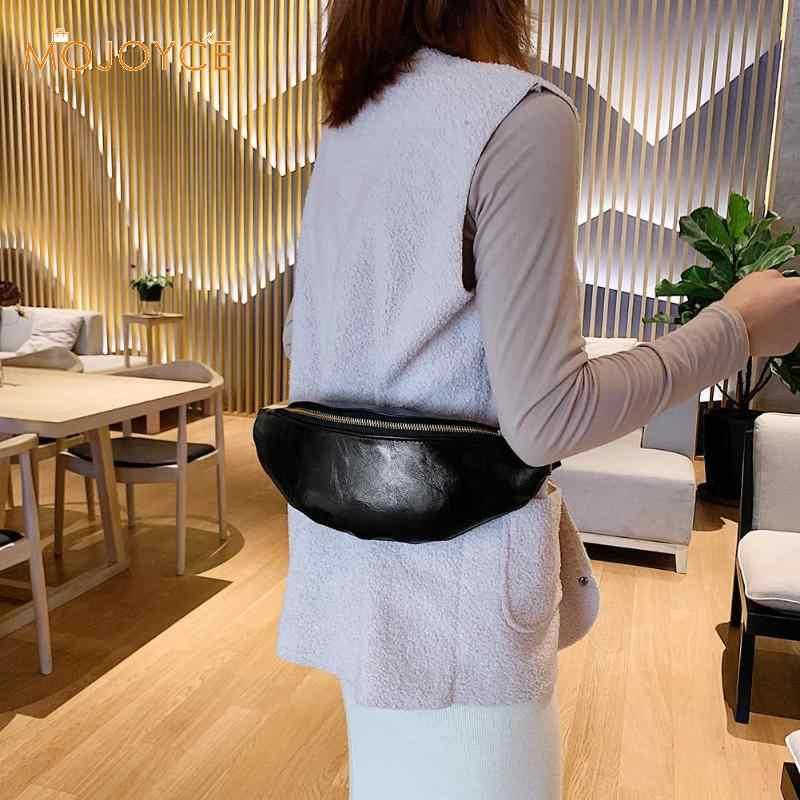 女性ファニーパックウエストバッグ腎臓固体革ポーチショルダーストリート防水クロスボディバッグメッセンジャーパックウエスト財布