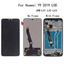 Original LCD Für Huawei Y9 2019 JKM LX1 LX2 LX3 LCD Display touchscreen digitizer ersatz für Y9 2019 Telefon reparatur teile