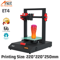 Anet 3D Printer ET4 Metal Frame Module Assembly with Auto Leveling/Resume Printing/Filament Detection,High Precision 3D Printer
