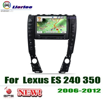For Lexus ES 240 350 2006 2007 2008 2009 2010 2011 2012 Car Stereo Radio HD Screen Multimedia DVD Player GPS Navigation System image