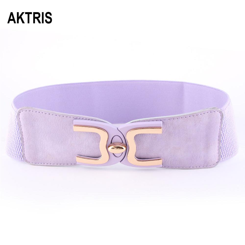 AKTRIS Women's Fashion Waistband Belts Elastic Overcoat Decorative Women's Belt Cummerbunds For Women Accessories FCO213